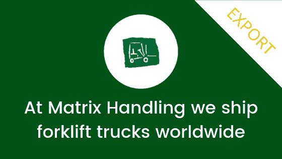 At Matrix Handling we ship worldwide