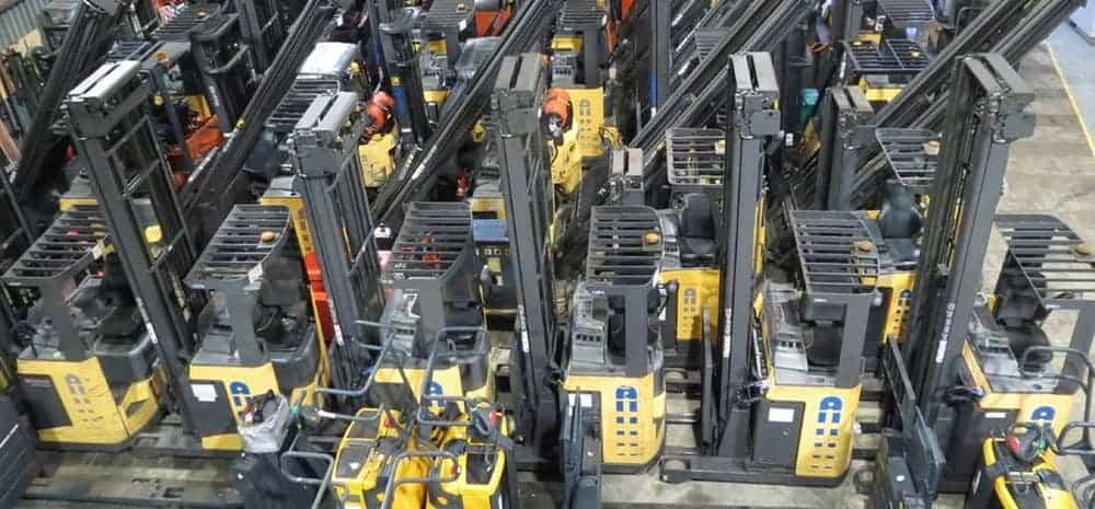 Reach trucks from Matrix Handling
