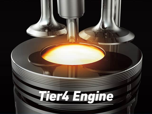 Tier 4 engine